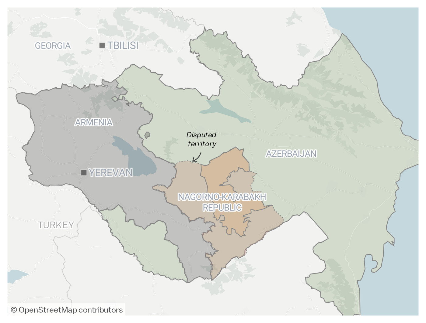 The Armenia And Azerbaijan Conflict Over Nagorno Karabakh Explained Vox