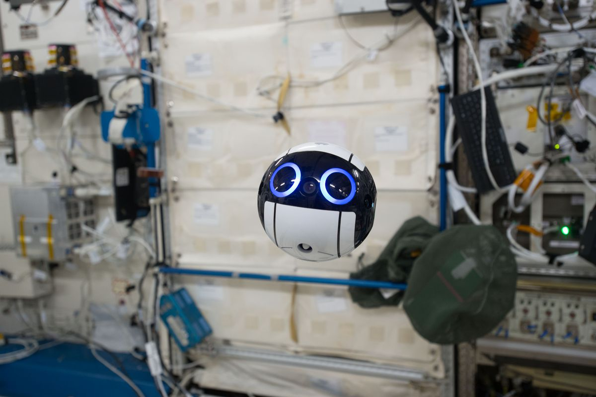 An Adorable Floating Robot Is Helping Astronauts on the ISS