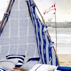 Ikea dreams of a cabana for every household racked for Ikea beach towels