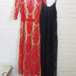 "The <a href=""http://www.neimanmarcus.com/For-Love-Lemons-San-Marcos-Open-Back-Lace-Maxi-Dress/prod168420378/p.prod?ci_src=14110925&ci_sku=sku150960326&ecid=NMAP_dresses"">San Marcos Open Back Lace Dress</a> and the <a href=""http://shop.forloveandlemons.com"