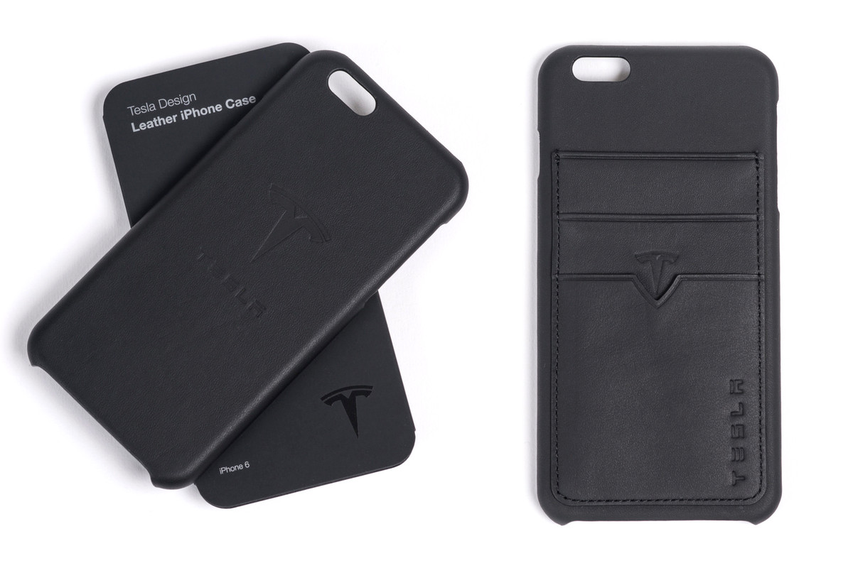 quality design f307b e5c59 Tesla is selling iPhone cases made from leftover seat leather - The ...
