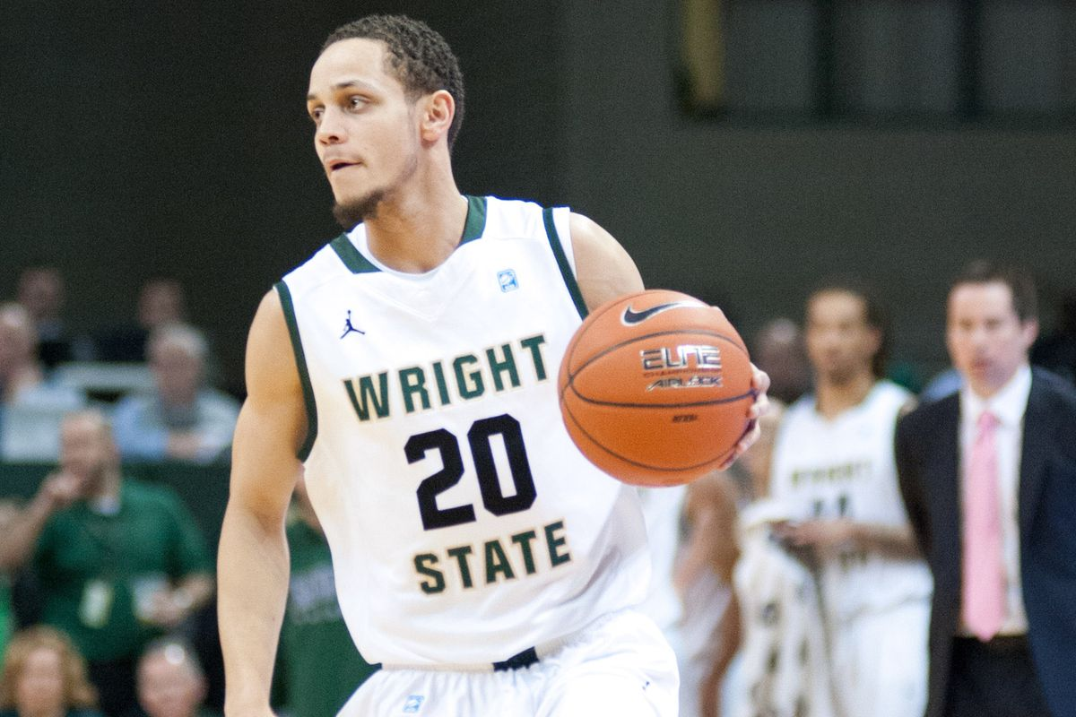 Wright State senior Chrishawn Hopkins led the Flyers with 21 points.