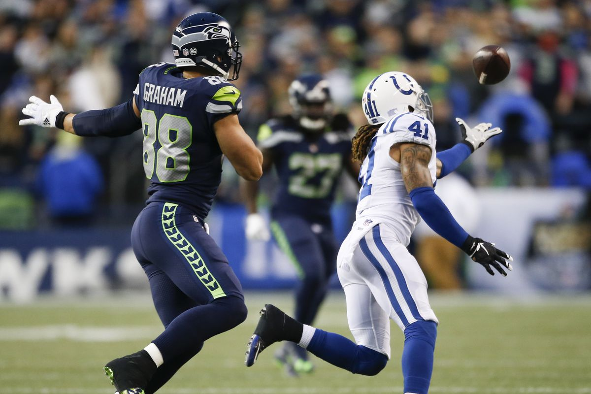Indianapolis Colts v Seattle Seahawks