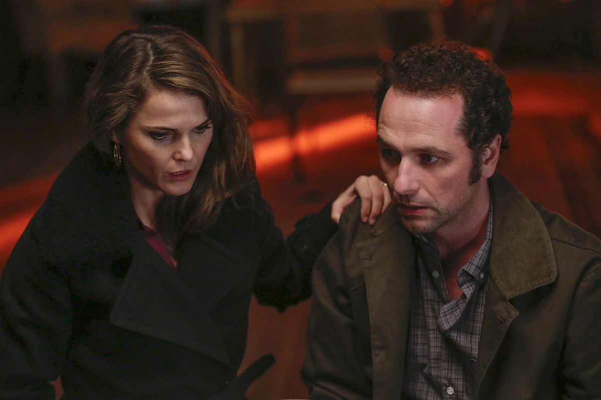 """Keri Russell and Matthew Rhys in the FX show """"The Americans."""""""
