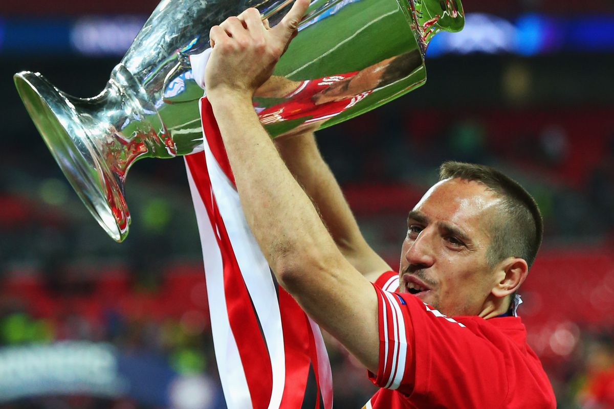 Franck Ribery Bayern Munich sign contract extension through 2017
