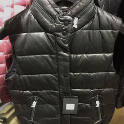 Gisa puffer vest, $410 (was $690)