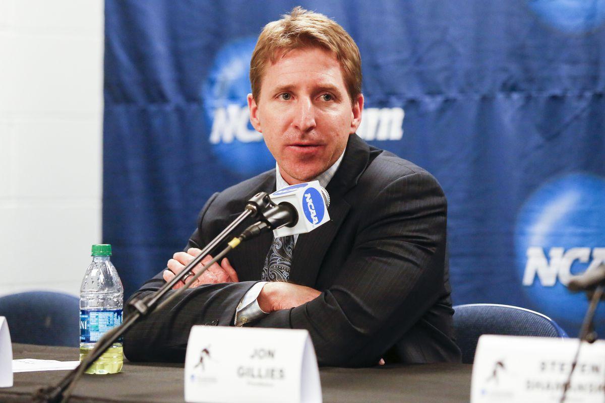 Providence College head coach Nate Leaman