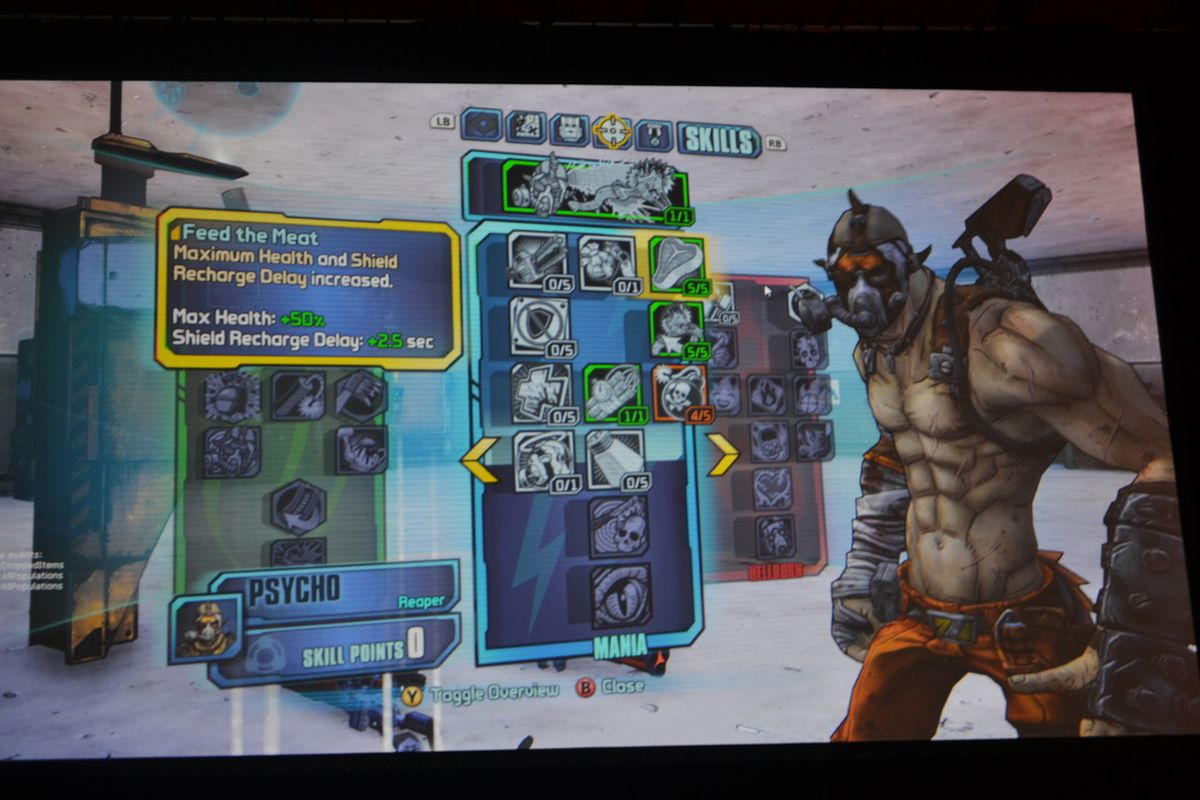 Borderlands 2 U0026 39 S New Vault Hunter Is Krieg The Psycho