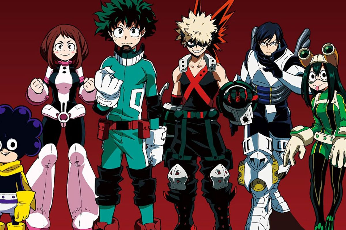 boku no hero academia anime