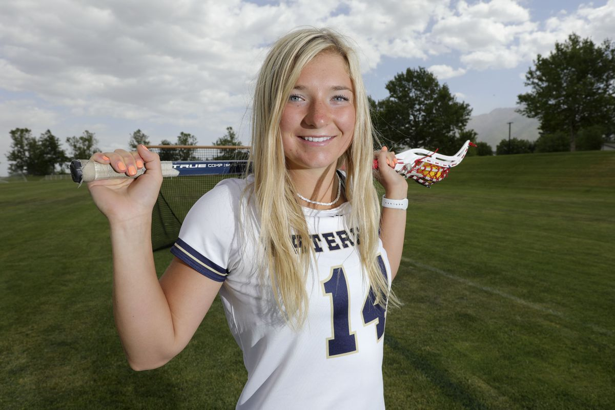 Waterford's Jaimeson Meyer is the Deseret News Ms. Lacrosse recipient.