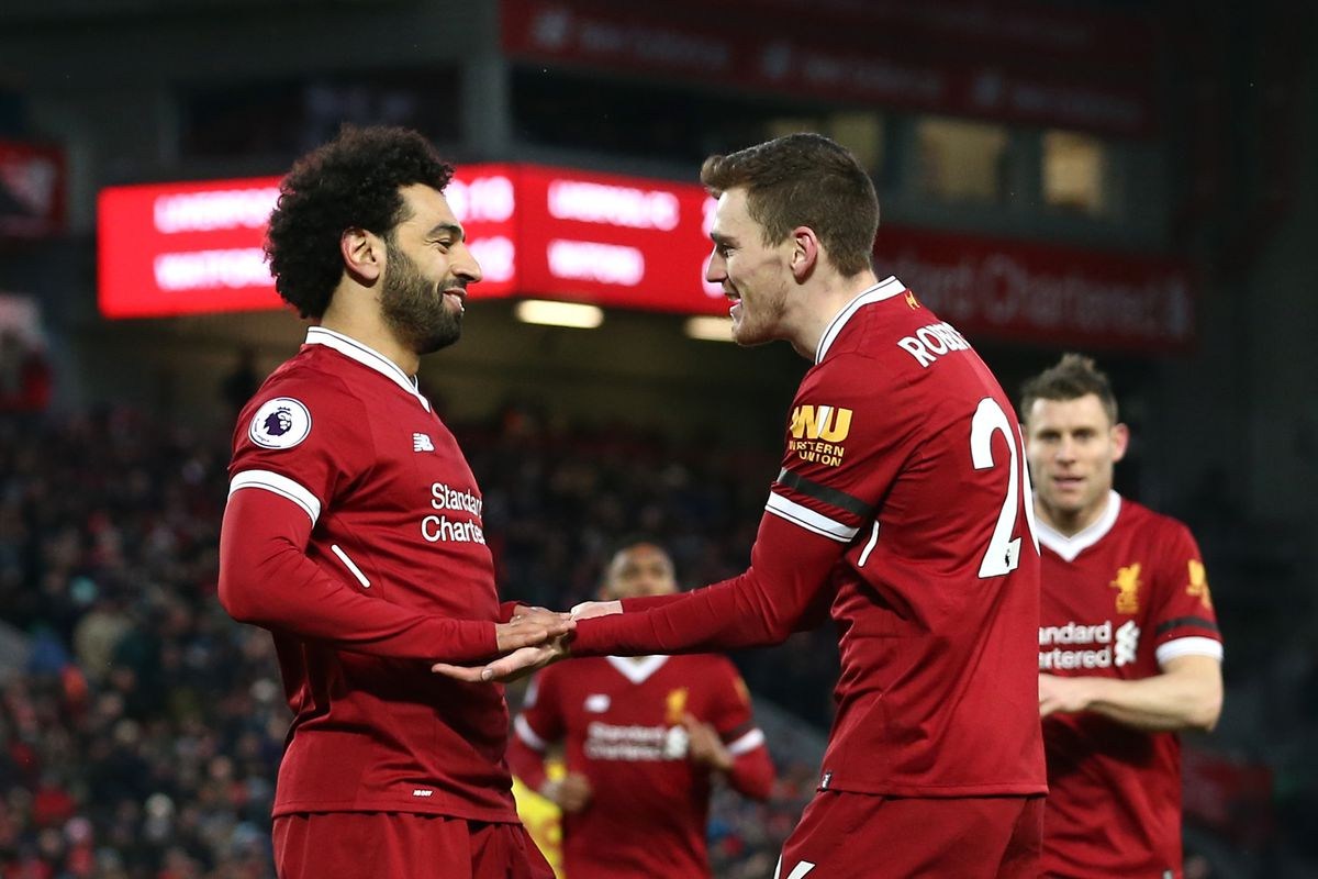 Liverpool captain Henderson ponders Salah and Suarez comparison