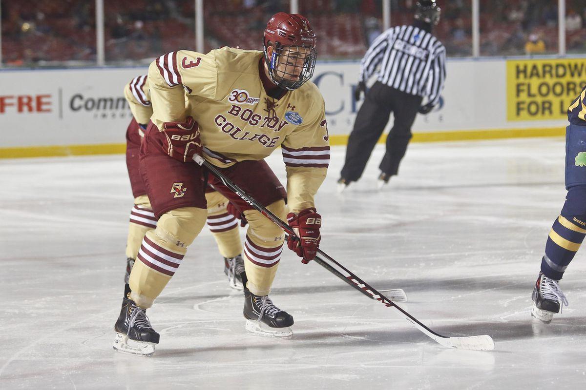7af02a313 Hockey East Defensemen: Top 10 NHL Prospects - SB Nation College Hockey