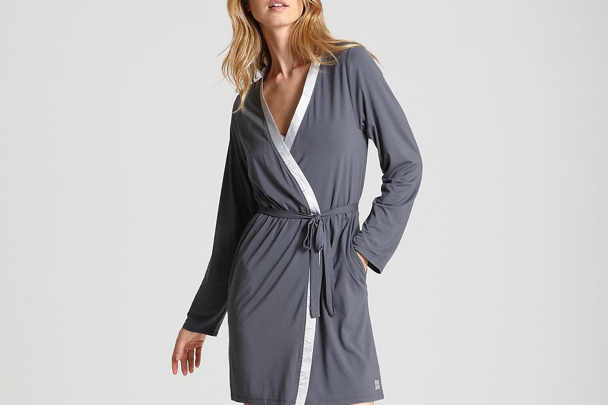 A Soft Robe For Lazy Summer Lounging