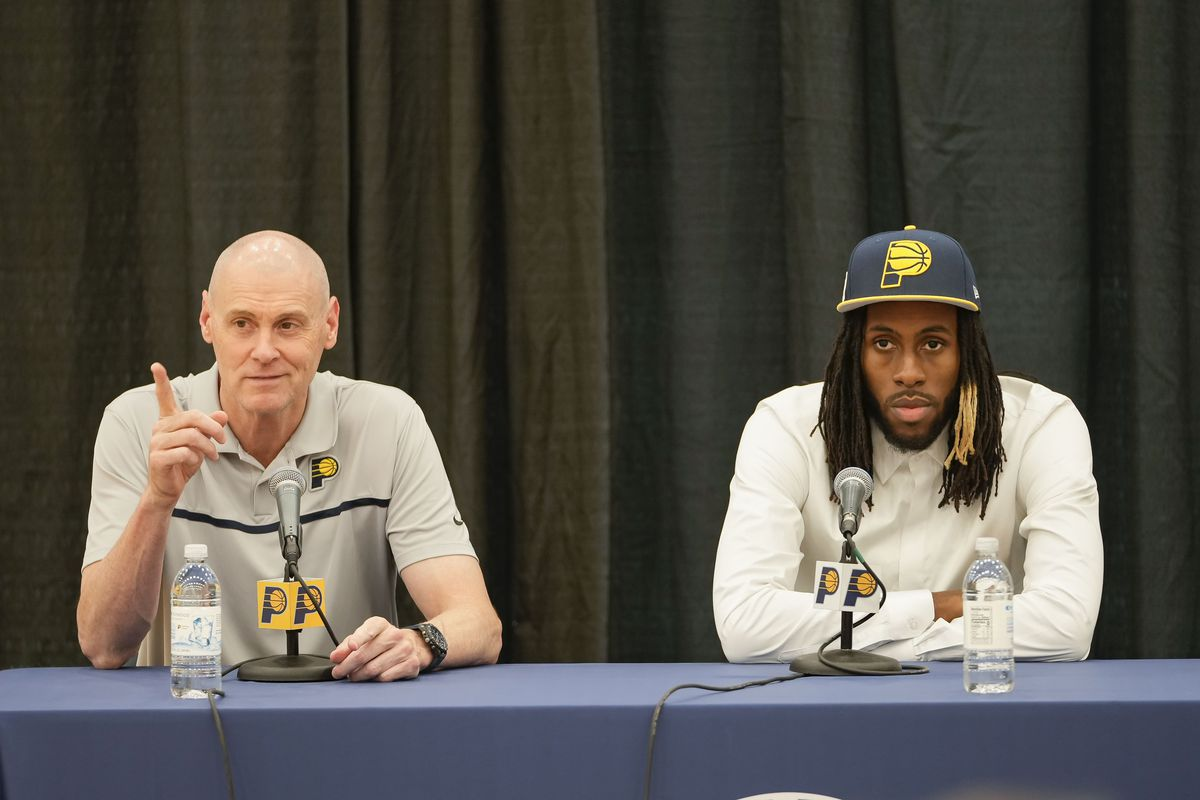 Indiana Pacers Introduce Draft Picks - Presser