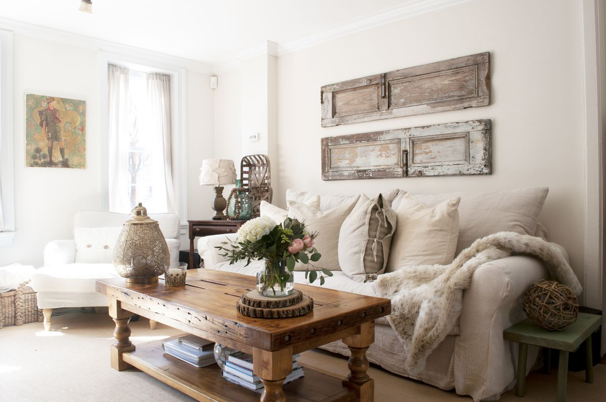 Farmhouse Style in South Philly Rowhouse