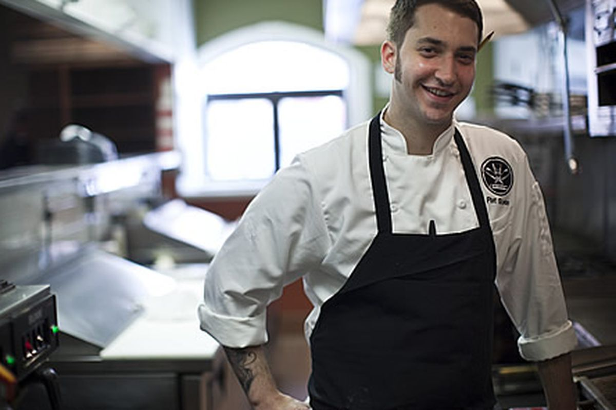Chef Pat Szoke of The Industry