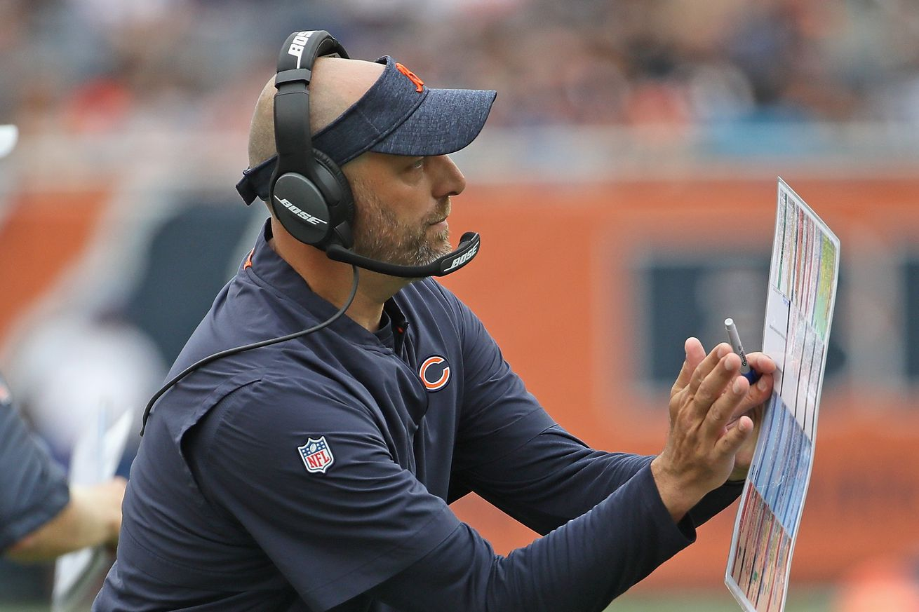 A new school of thought: Matt Nagy takes firm control of the Bears