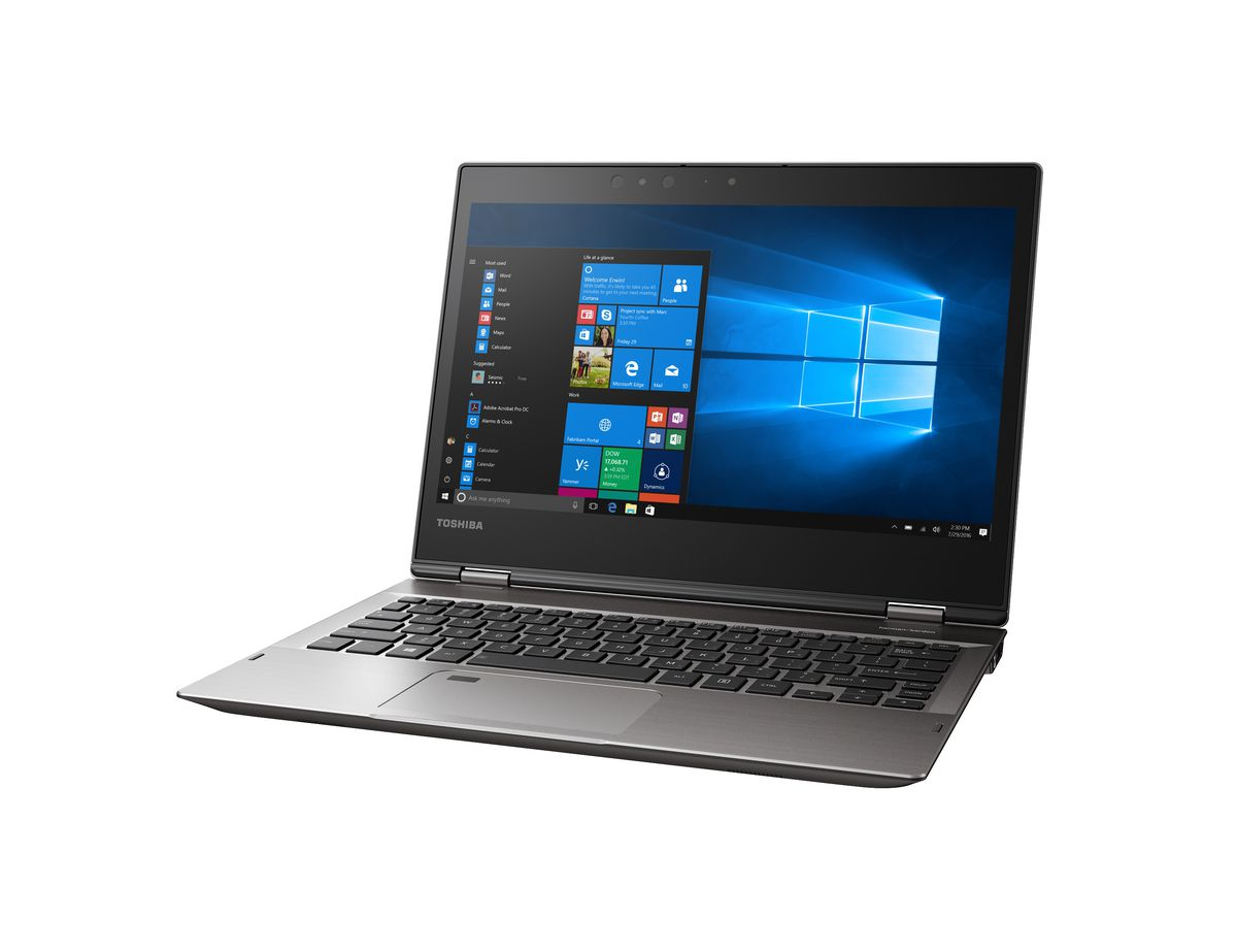 Toshibas Portg X20w Is A Convertible Laptop That Claims To Get 16 360degree Diagram Showing The Location Of Altair Trackpad Has An Integrated Synaptics Fingerprint Sensor For Biometric Security There Are Two Ir Cameras Support Windows Hello Facial