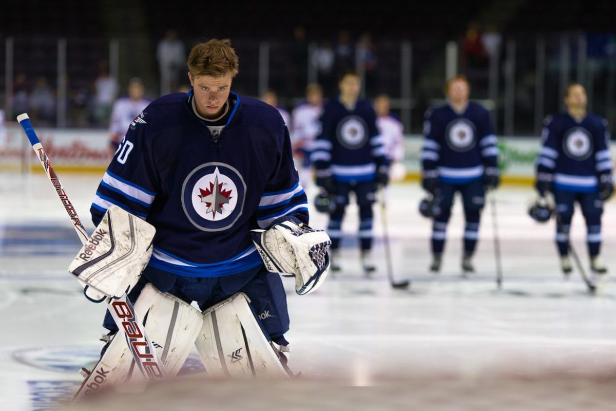 check out 12887 2ee48 Winnipeg Jets' 2016 Top 25 Under 25: #16, Eric Comrie ...