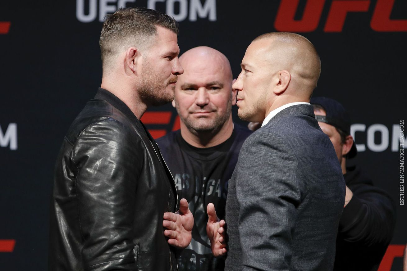 For Michael Bisping, Georges St Pierre money fight is well earned lifetime achievement award