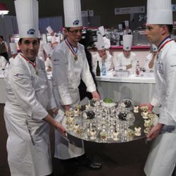 The winning dish from Denmark