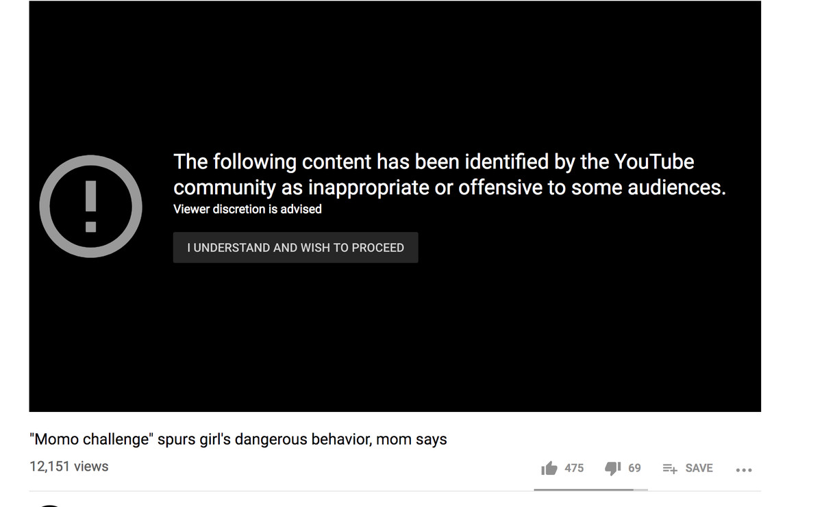 Youtube Is Demonetizing All Videos About Momo The Verge