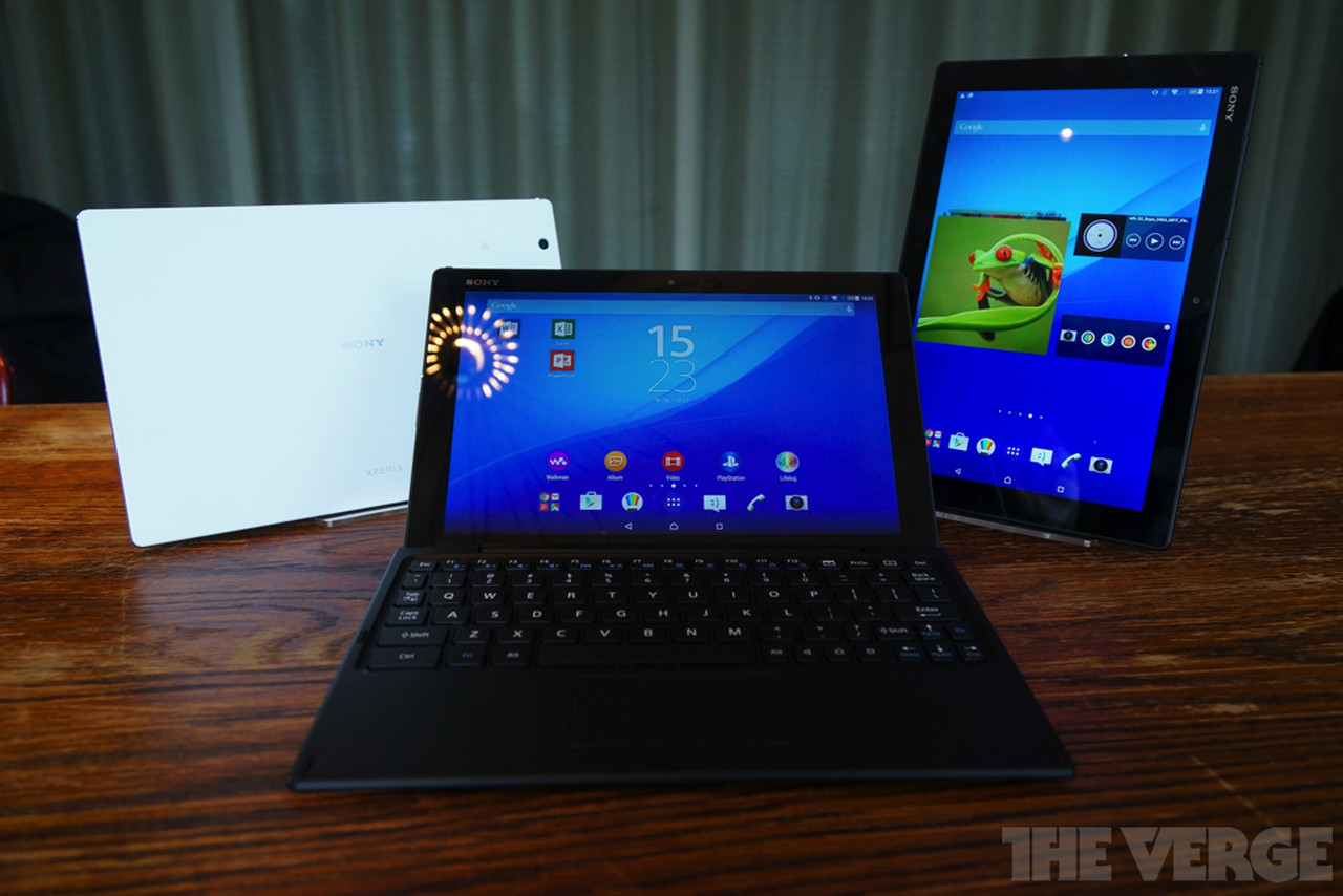 Sony's VAIO replacement is the ultrathin Xperia Z4 Tablet ...