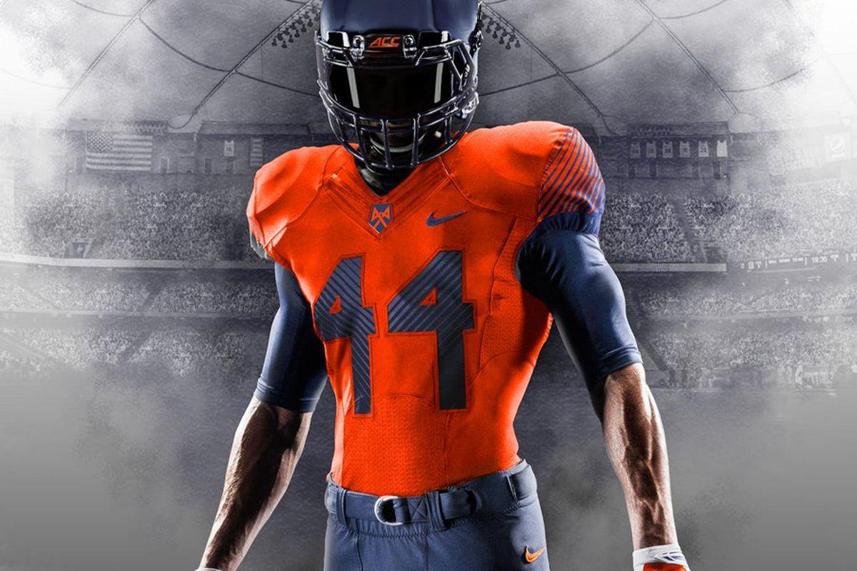 Syracuse Football Orange Unveil First Time Uniform Combination Vs