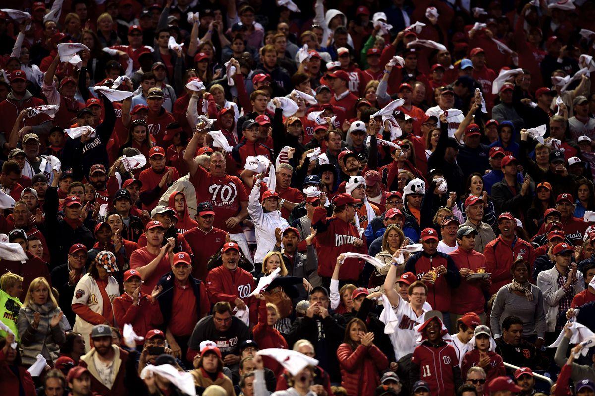 Division Series - San Francisco Giants v Washington Nationals - Game Two