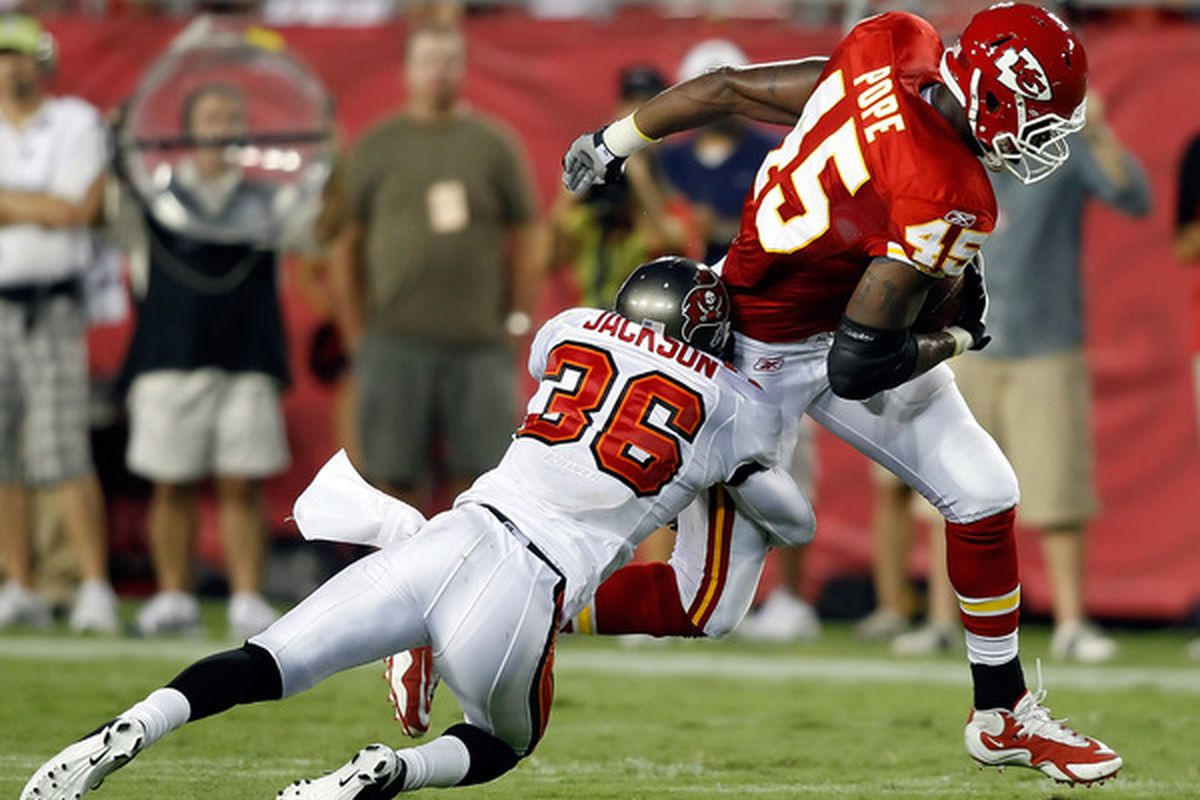 Redskins' free agent pickup Tanard Jackson will likely suit up for training camp for the first time on Wednesday.