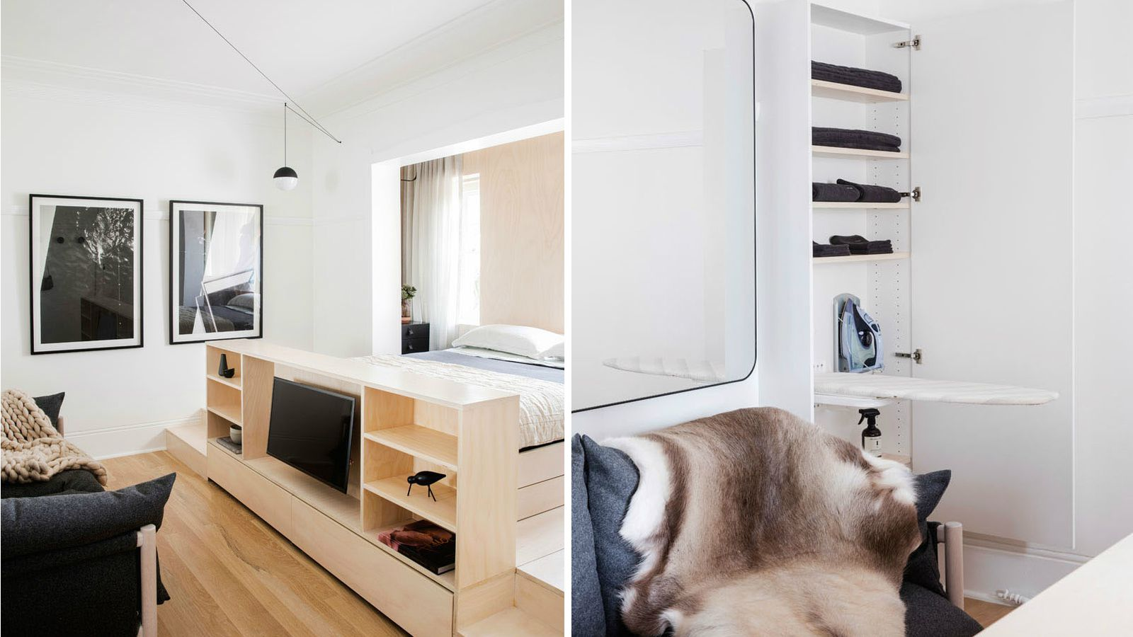 Small Apartment Comes Packed With Storage Solutions Curbed