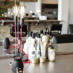 Stylists gravitate toward products from Davines (a family-owned Italian business that creates sustainable products), and a small retail section is stocked with goods from that line as well as Moroccanoil.   One thing that sets Lavender Park apart from o