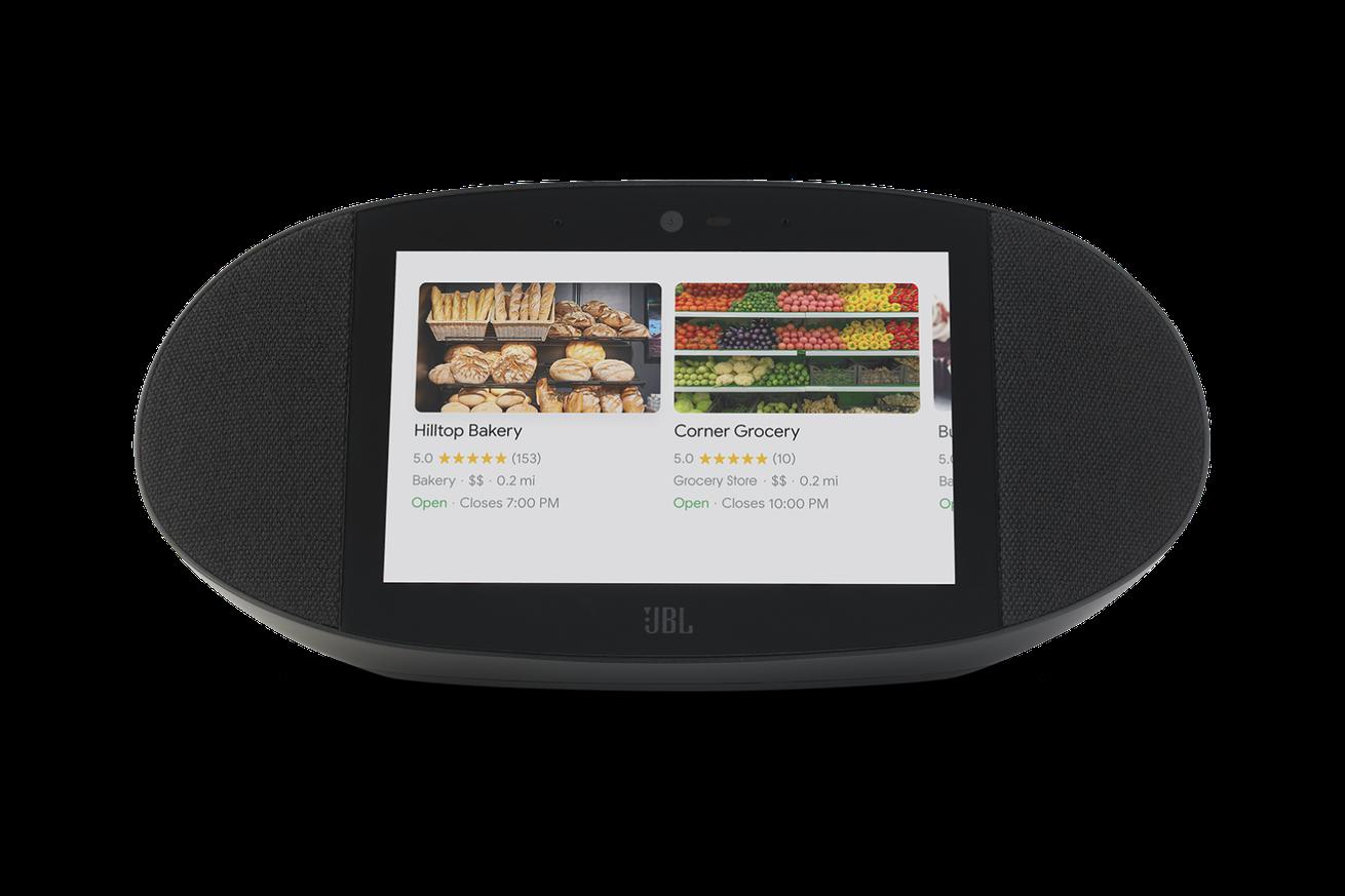 JBL's speaker-packed Google Nest Hub alternative is 0 off