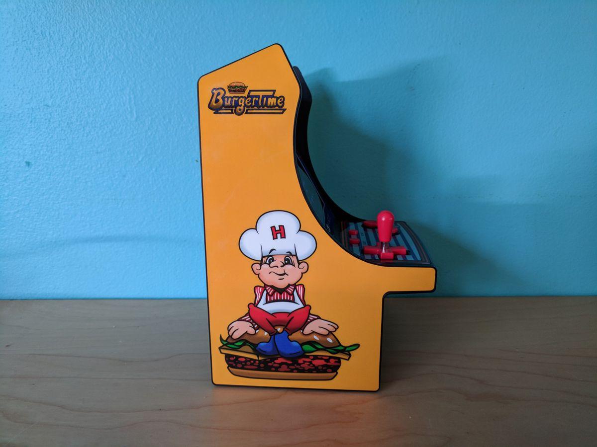 Burger Time My Arcade machine - side art