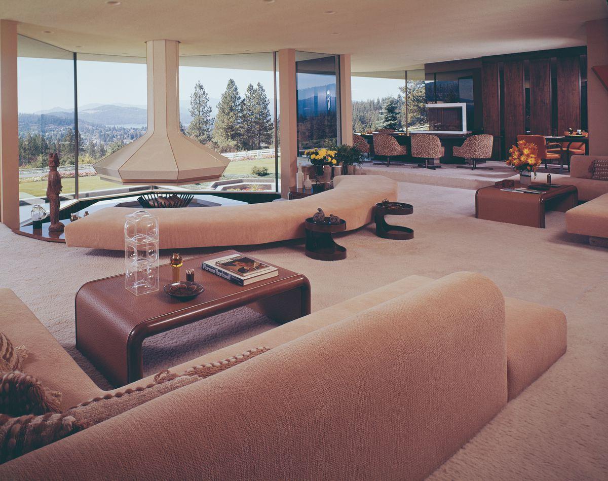 Elrod living room, Coeur d'Alene