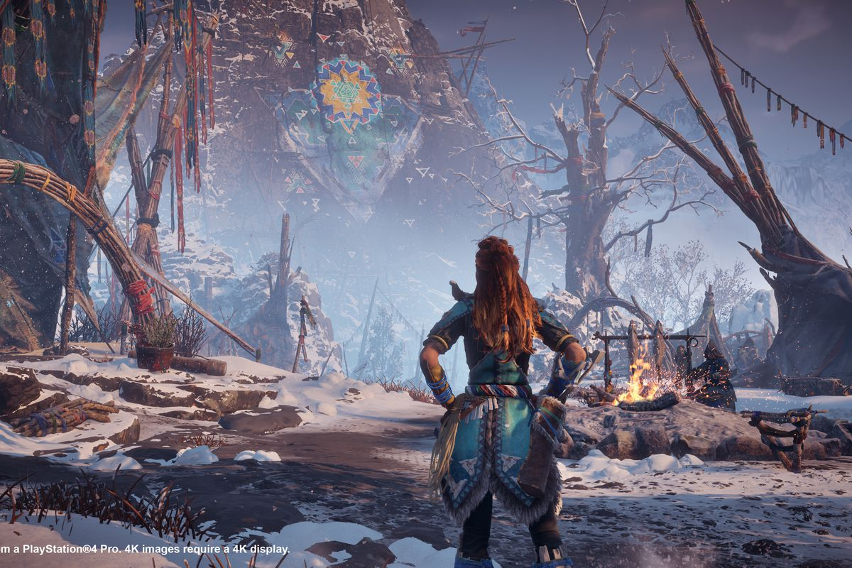 The Frozen Wilds Is A Perfect Excuse To Jump Back Into Horizon Zero Circuit Like This Really Involves And That You Keep Them Separate Whenever I Approach End Of Great Story Feel An Impending Sense Dread Just Dont Want It If Its Book Ill Read Slowly