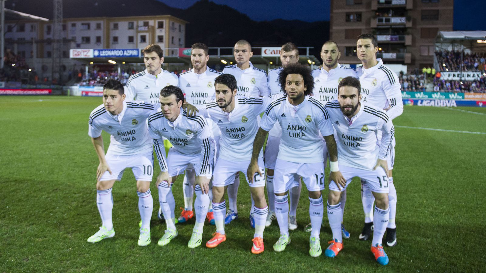 Managing Madrid A Real Madrid Community: CONFIRMED: Real Madrid's 20 Players To Face FC Basel
