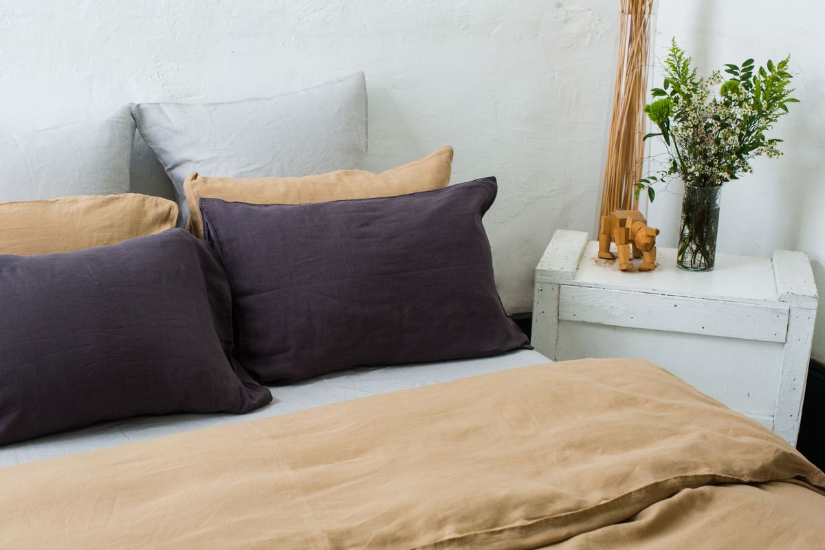 Matteo's Eco-Friendly Bedding Now Comes in Color