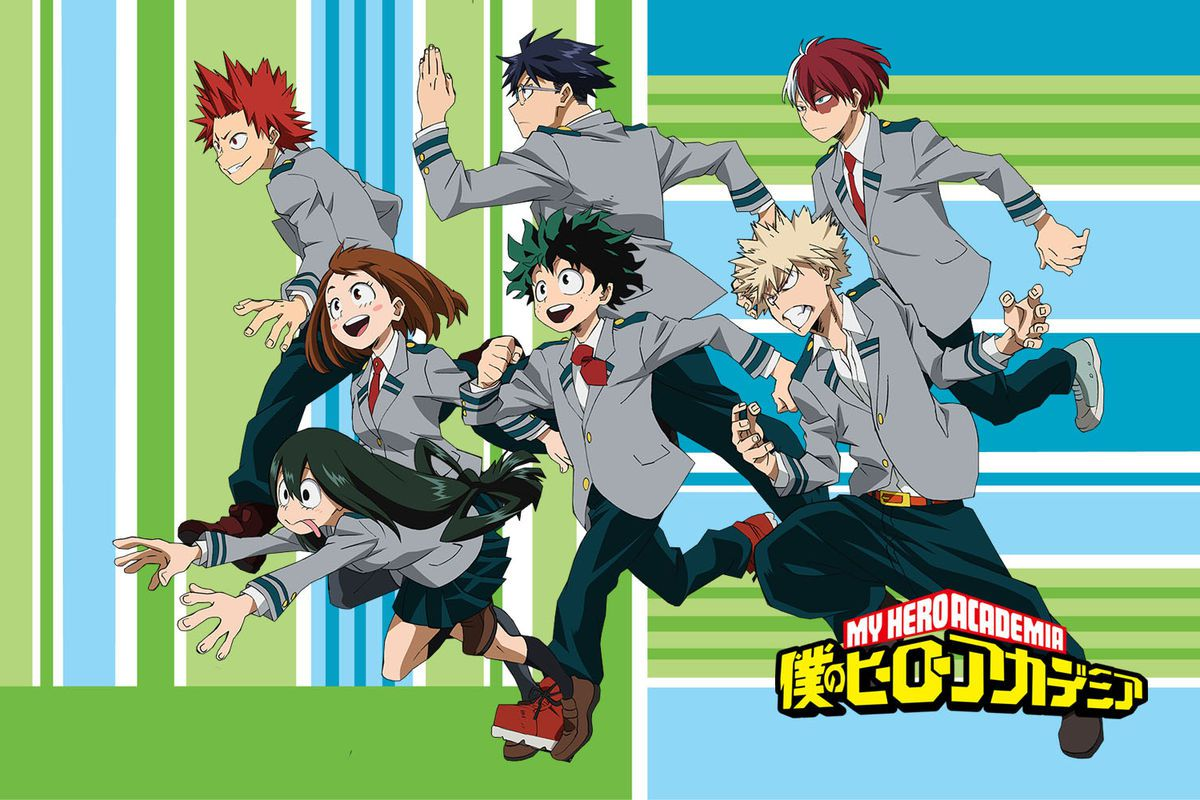 My hero academia what you need to know about the biggest superhero anime