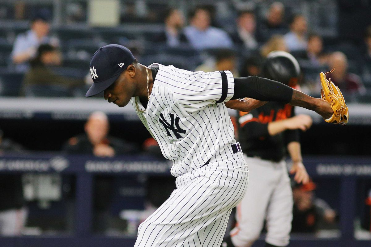 more photos 7891d e9b92 The Yankees' faith in Domingo German has been rewarded ...