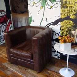 Antique chairs in the lounge