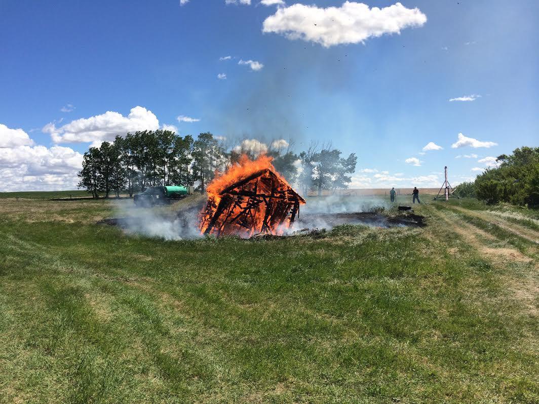 Burning down the farm