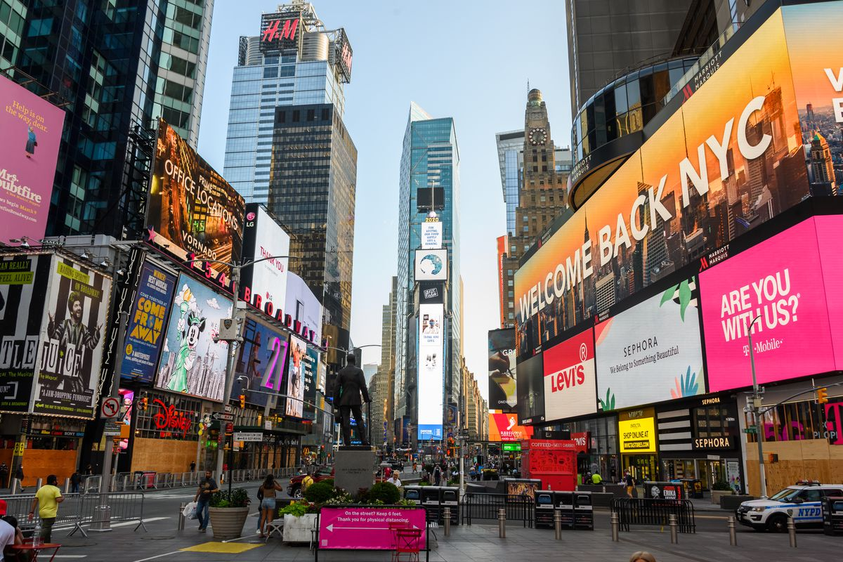 Re-opening Continues Across Densely Populated New York And New Jersey Areas