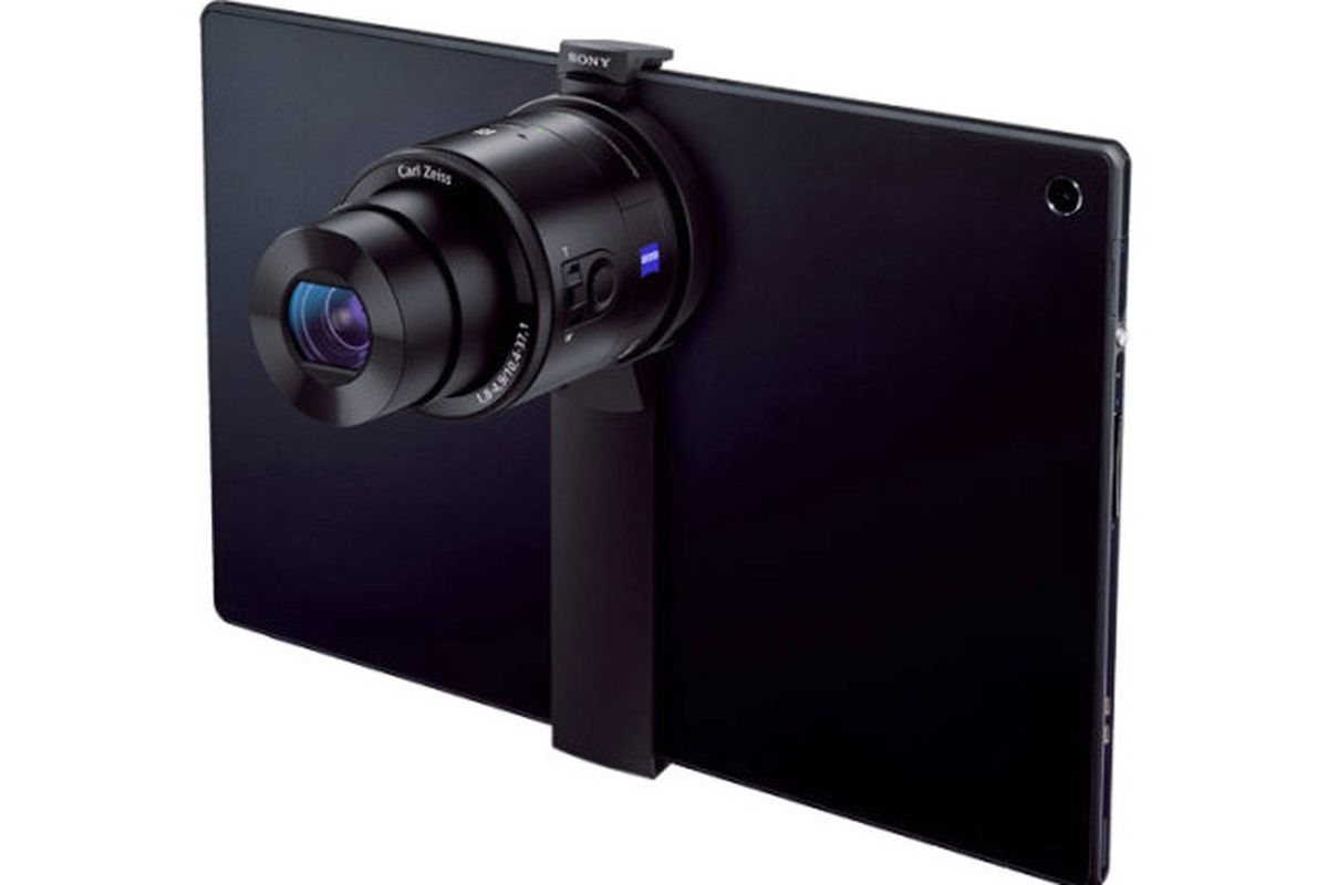 sony tablet camera