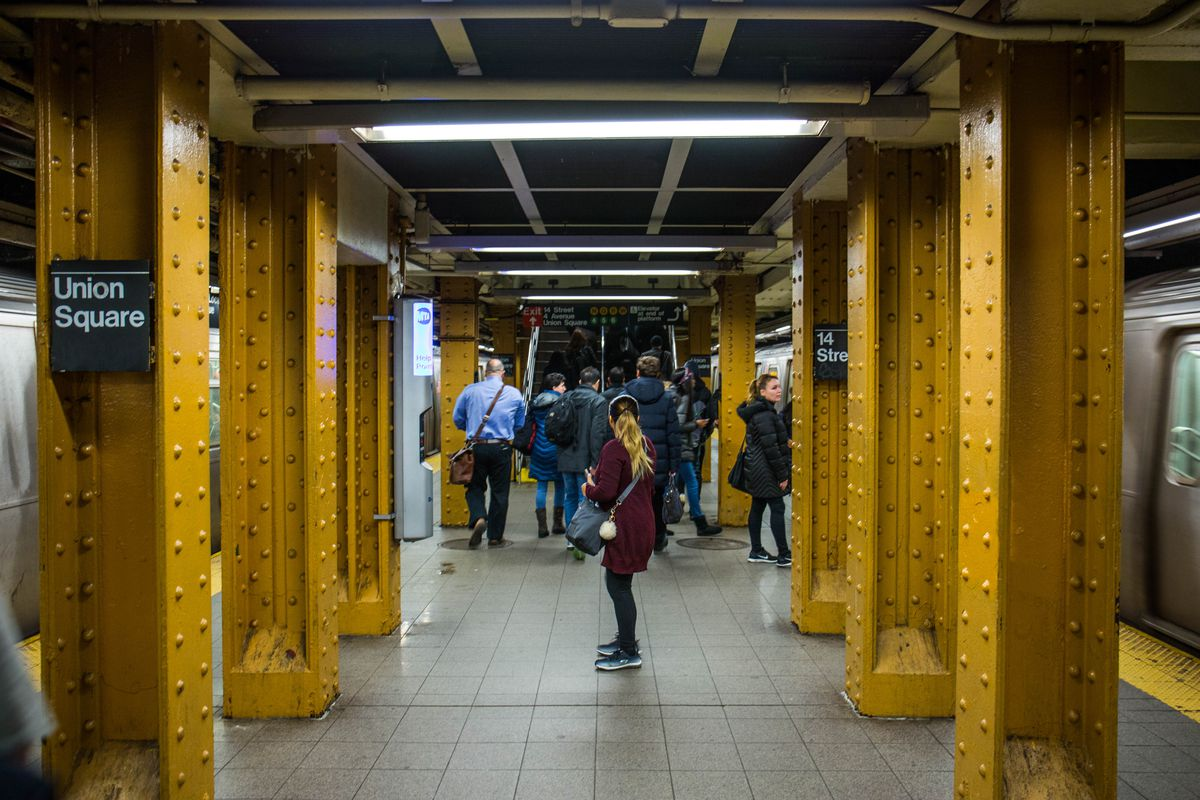 How To Fix The Union Square Subway Station S Narrow