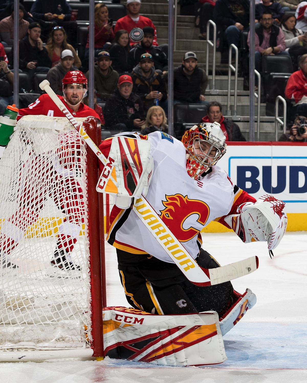 Calgary Flames v Detroit Red Wings
