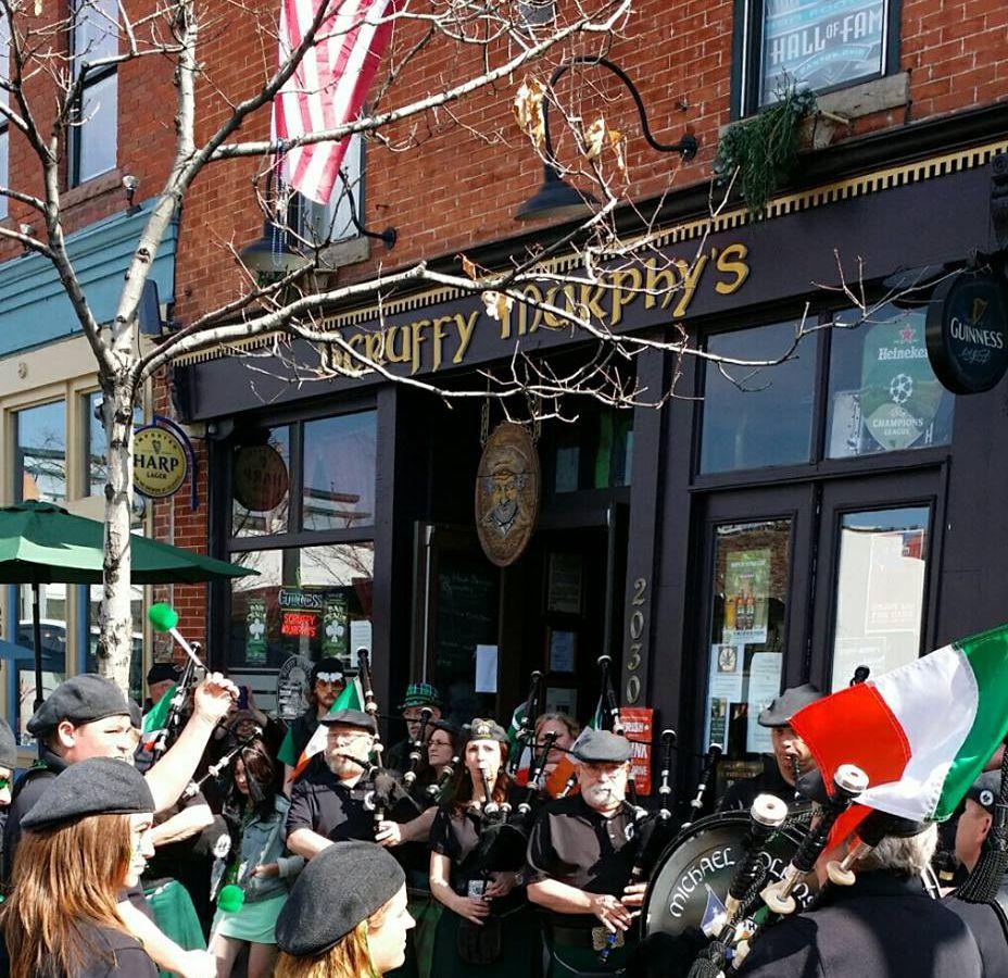 Scruffy Murphy's during a St. Patrick's Day celebration