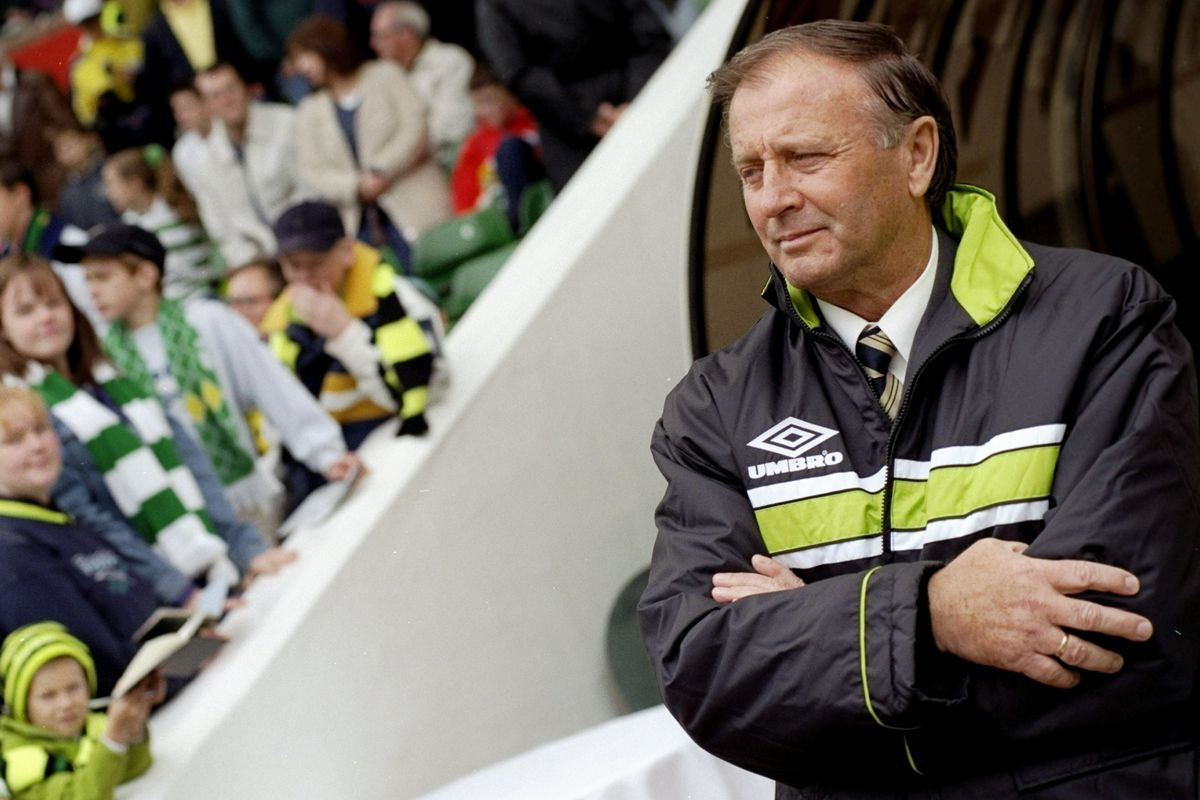 Dr Jozef Venglos of Celtic