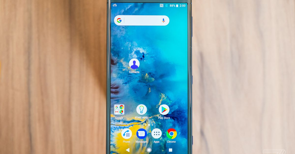 Sony's Xperia XZ2 phones have a fresh design, smaller bezels, and no headphone jack