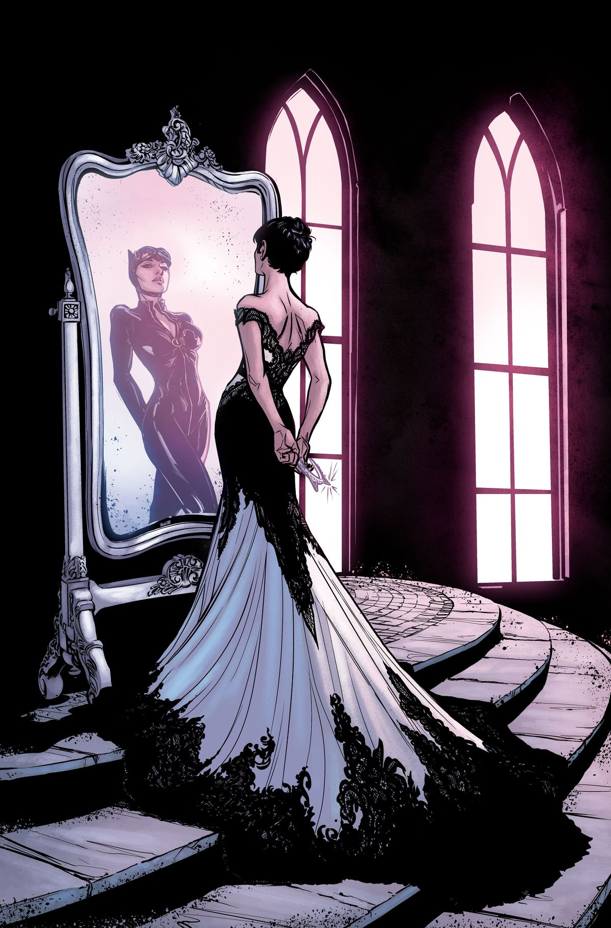 Get a first look at Catwoman\'s wedding dress - Polygon